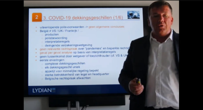 Lydian Webinar Insurance COVID-19 / Next steps - 2 juni 2020