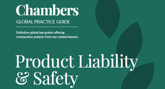 Chambers 'Product Liability & Safety 2020'